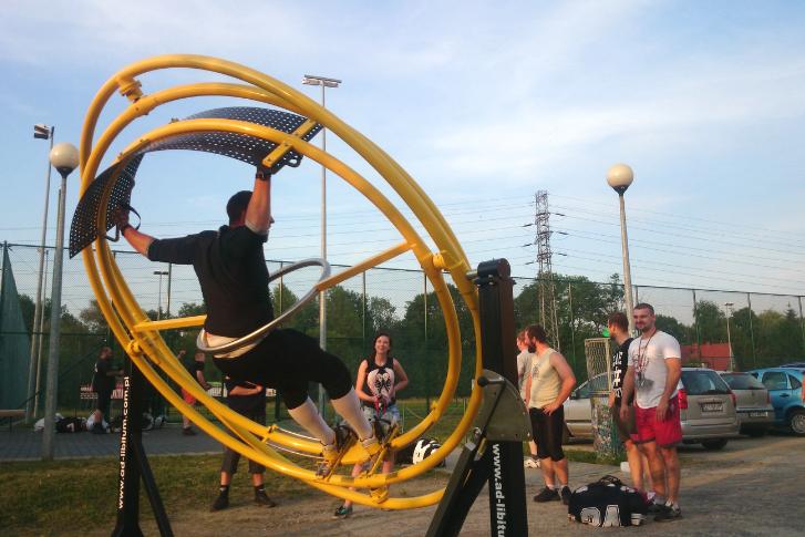 sports gyroscope trainer AD-LIBITUM 2